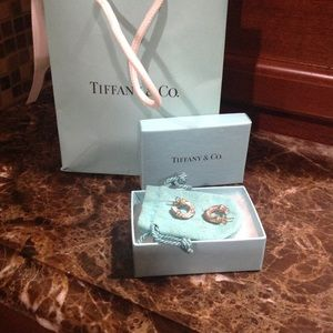 Tiffany & Co. silver hoop earrings